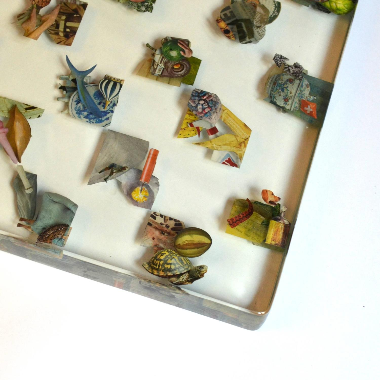 Dustin Yellin Chessboard 39 Edition Of Unique Chess Sets