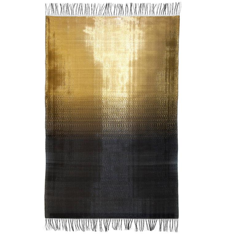 Spectrum 13 hand-woven in brass and steel by Dougall Paulson