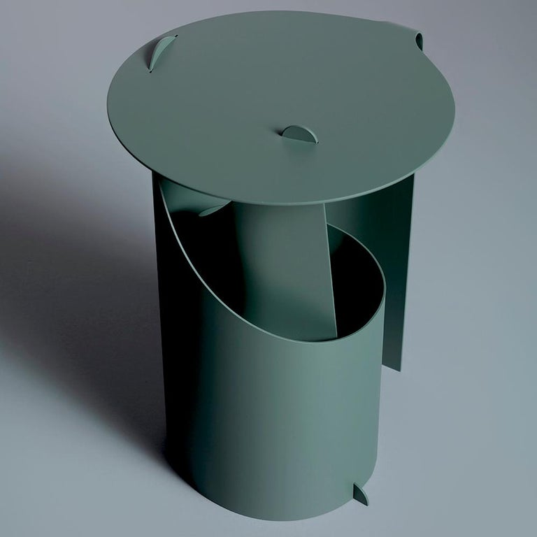 Aldo Bakker Side Table Green Karakter Coppenhagen Editions In New Condition For Sale In New York, NY