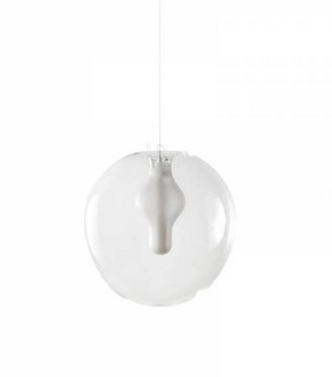 Crystal Preciosa Soul Pendant Lights by Eva Eisler, Glass Mouth-Blown in Czech Republic For Sale