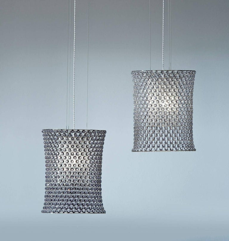 Crystal Aires Pendant Collection by Lolli e Memmoli For Sale