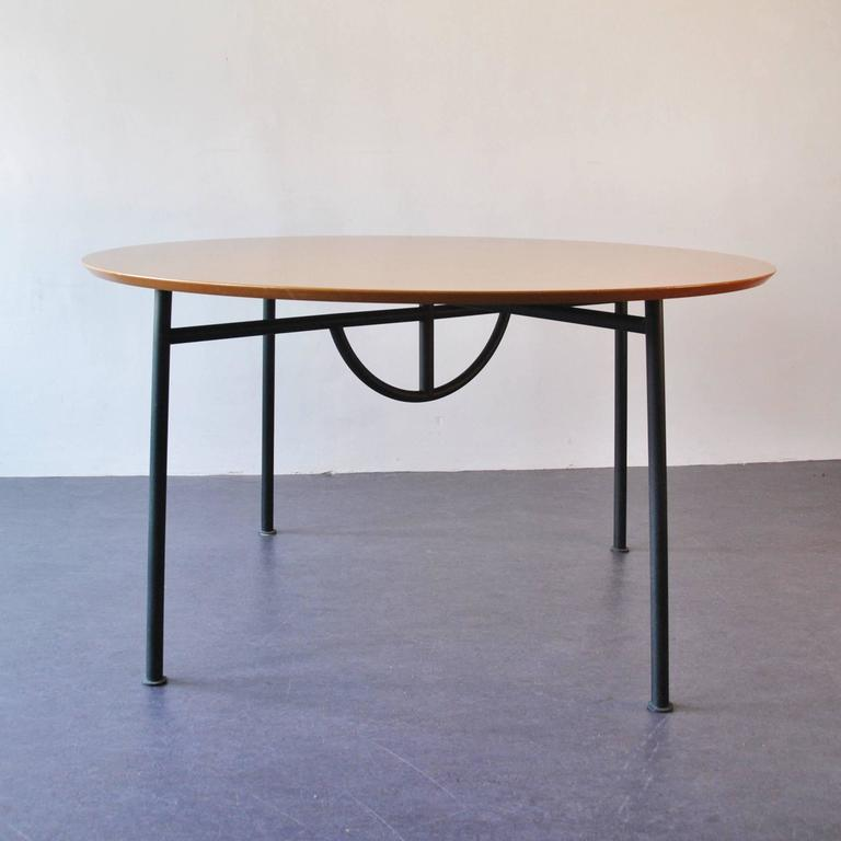 Rare 39 nina freed 39 dining table by philippe starck 1983 at 1stdibs for Philippe starck tables