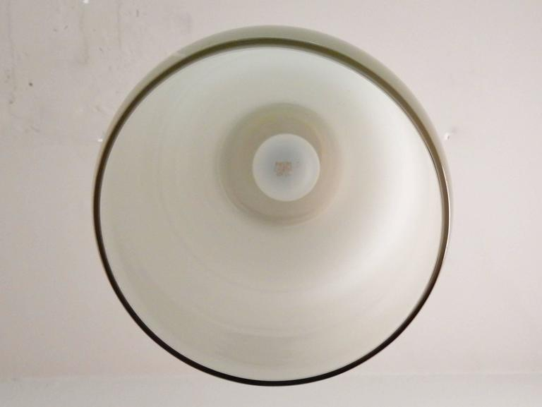 Mid-20th Century Model's Largest Size Glass Pendant by Paolo Venini for Venini, Italy, 1950s For Sale