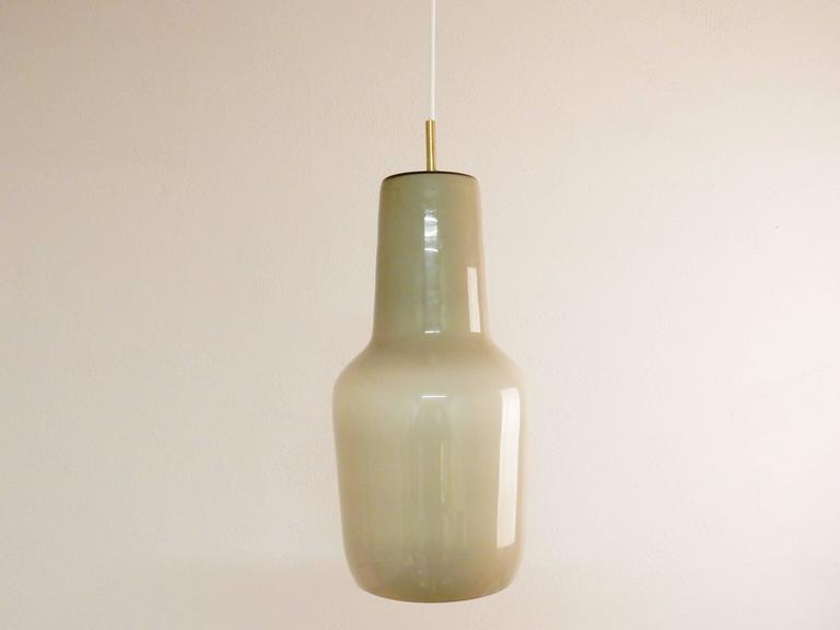 Model's Largest Size Glass Pendant by Paolo Venini for Venini, Italy, 1950s For Sale 1
