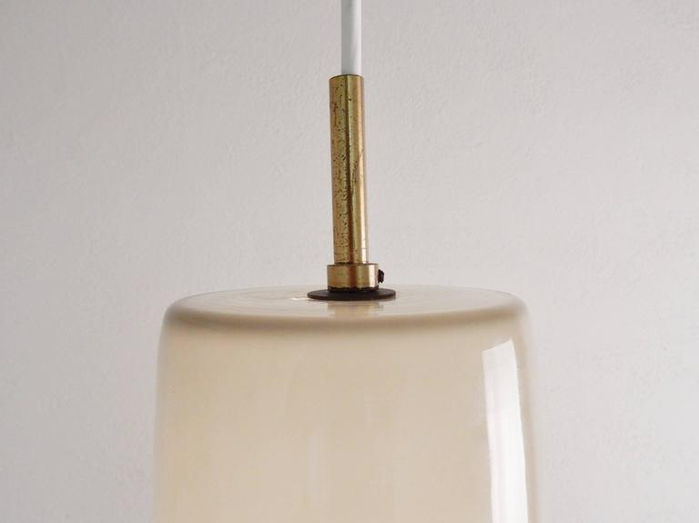 Model's Largest Size Glass Pendant by Paolo Venini for Venini, Italy, 1950s For Sale 2