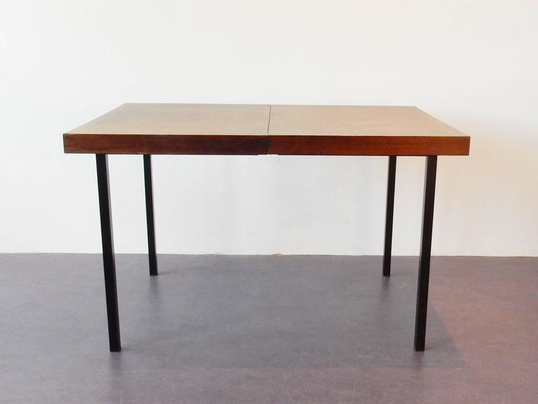 Mid-Century Modern Wengé Top Model 'Weert' Dining/Kitchen Table by Martin Visser for 't Spectrum For Sale