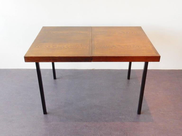 Wengé Top Model 'Weert' Dining/Kitchen Table by Martin Visser for 't Spectrum In Good Condition For Sale In Steenwijk, NL
