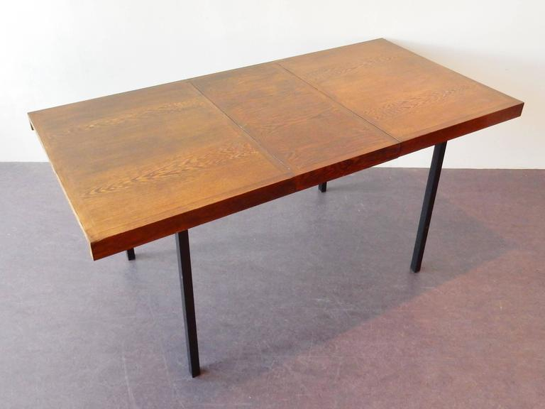Mid-20th Century Wengé Top Model 'Weert' Dining/Kitchen Table by Martin Visser for 't Spectrum For Sale