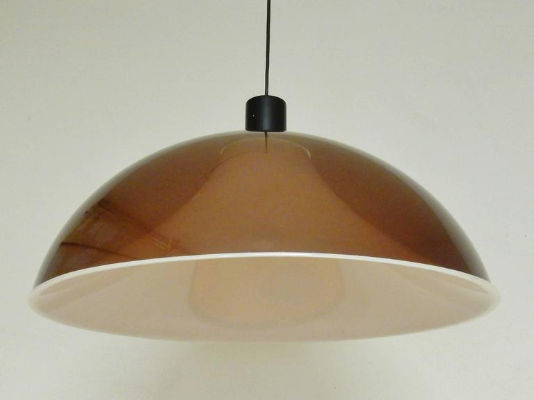 1960s Pendant Light, Attributed to Gino Sarfatti for Arteluce, Italy 4