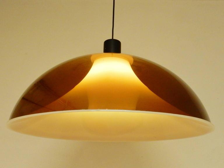 1960s Pendant Light, Attributed to Gino Sarfatti for Arteluce, Italy 9