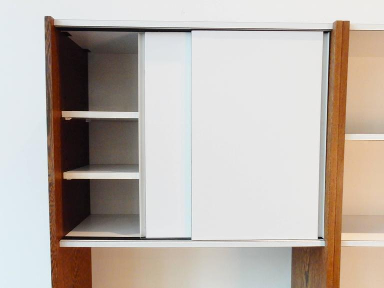 Very Rare Set Of Two Cabinets With Sliding Doors From The U0027Borculou0027 Series.