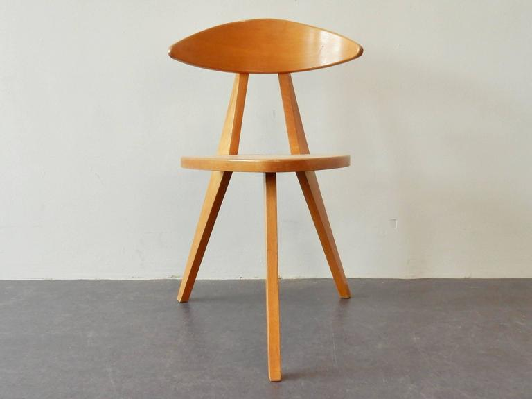 Mid-Century Modern Model '360' Children Chair by Walter Papst for Wilkhahn, Germany, 1950s For Sale