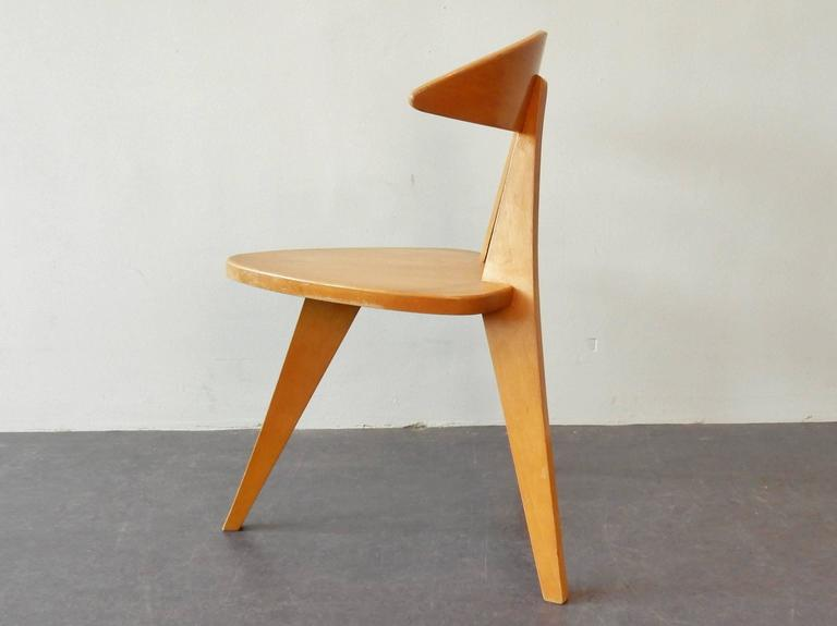 Model '360' Children Chair by Walter Papst for Wilkhahn, Germany, 1950s In Good Condition For Sale In Steenwijk, NL