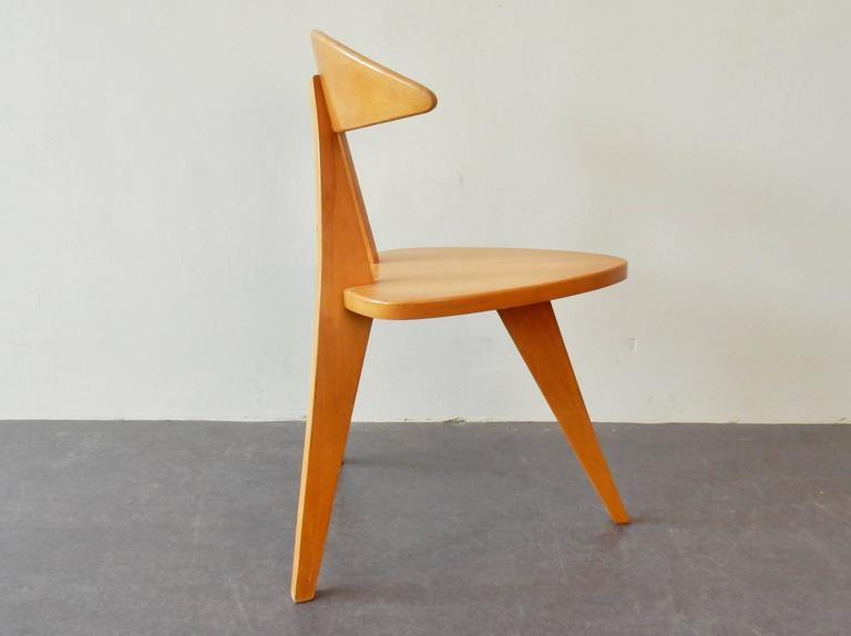 Mid-20th Century Model '360' Children Chair by Walter Papst for Wilkhahn, Germany, 1950s For Sale