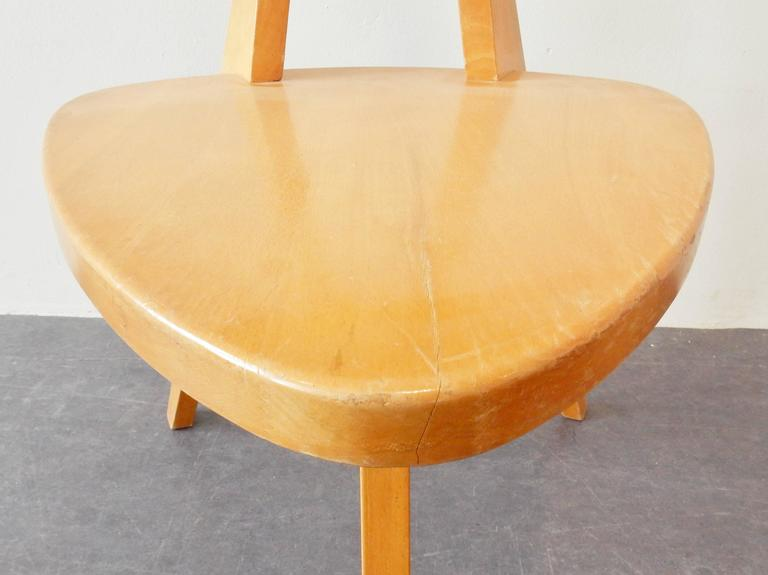 Wood Model '360' Children Chair by Walter Papst for Wilkhahn, Germany, 1950s For Sale