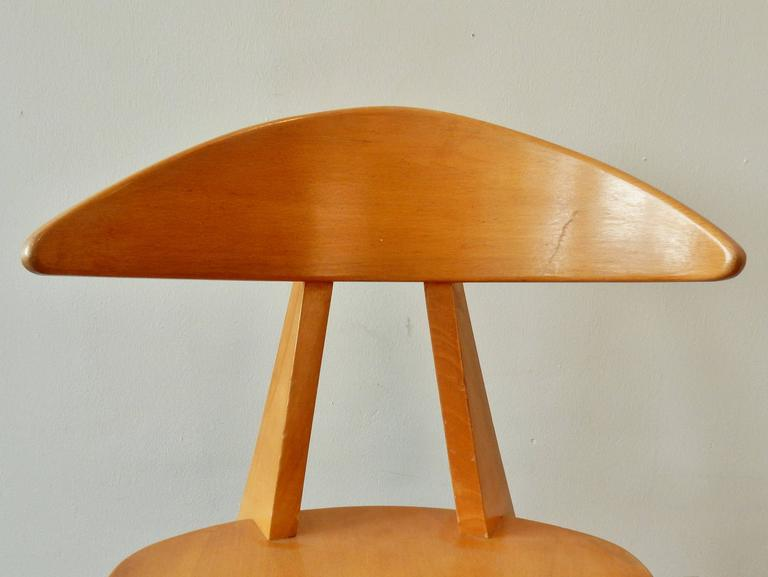 Model '360' Children Chair by Walter Papst for Wilkhahn, Germany, 1950s For Sale 1
