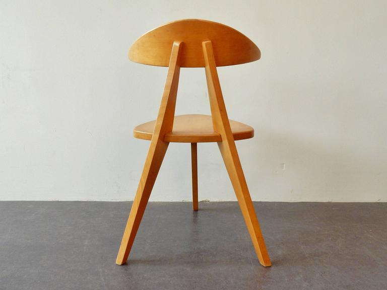 Model '360' Children Chair by Walter Papst for Wilkhahn, Germany, 1950s For Sale 2