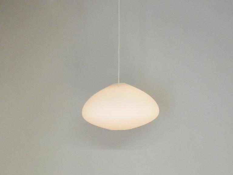 These pendant light are sourced from an old church building in the Netherlands. They have hung there from the 1960's. After a sale of the church and a renovation, these lights have come available. We have 7 of these lights available and all are in