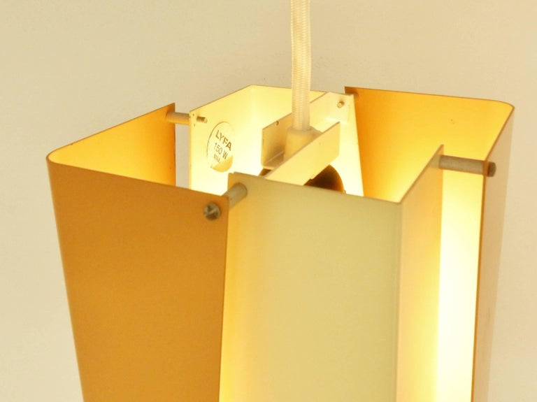 Mid-20th Century Danish Design Pendant Lamp by Lyfa, Denmark, 1960s For Sale