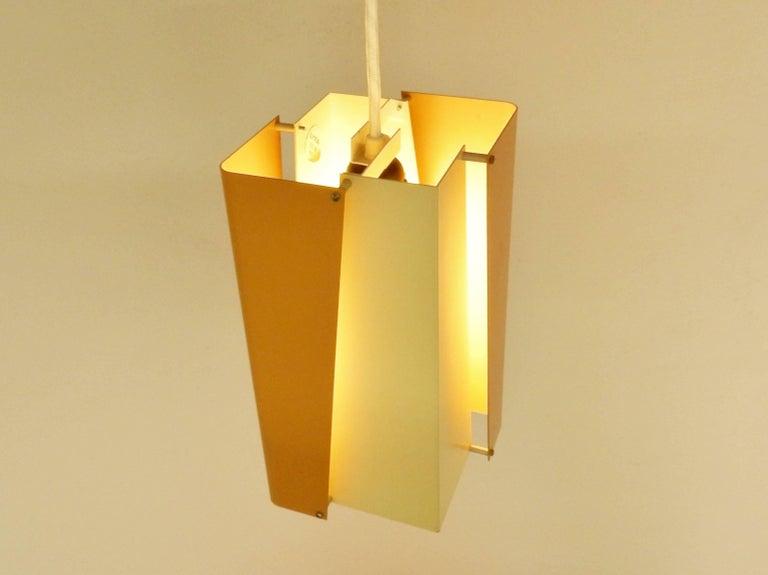 Danish Design Pendant Lamp by Lyfa, Denmark, 1960s For Sale 1