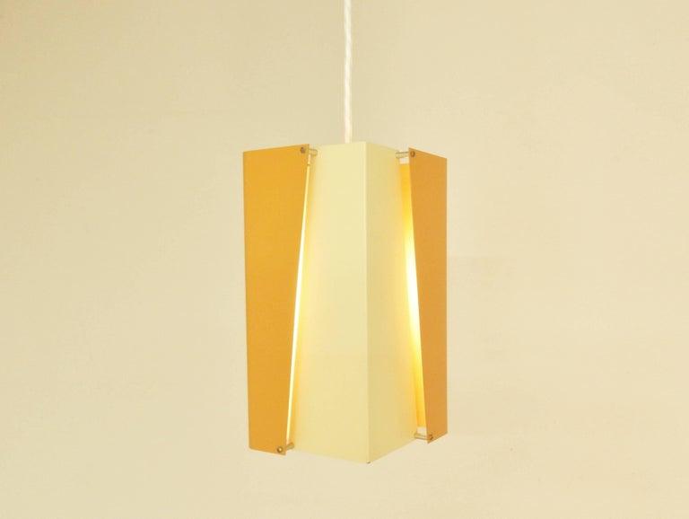 Lacquered Danish Design Pendant Lamp by Lyfa, Denmark, 1960s For Sale