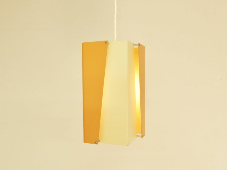 Mid-Century Modern Danish Design Pendant Lamp by Lyfa, Denmark, 1960s For Sale