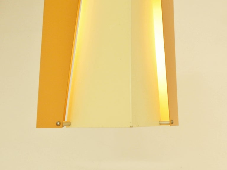 Danish Design Pendant Lamp by Lyfa, Denmark, 1960s In Excellent Condition For Sale In Steenwijk, NL