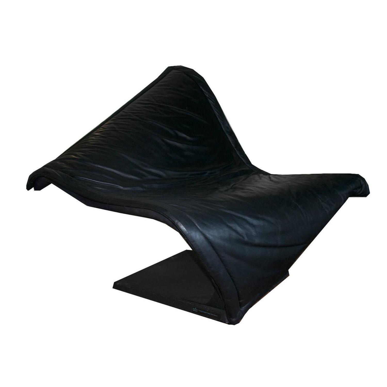 """Simon Desanta Lounge Chair """"Flying Carpet"""" for Rosenthal For Sale"""