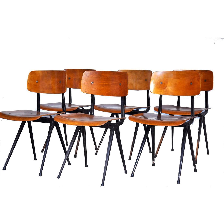 Friso kramer for ahrend de cirkel result dining chairs for sale at 1stdibs - Kamer dining ...
