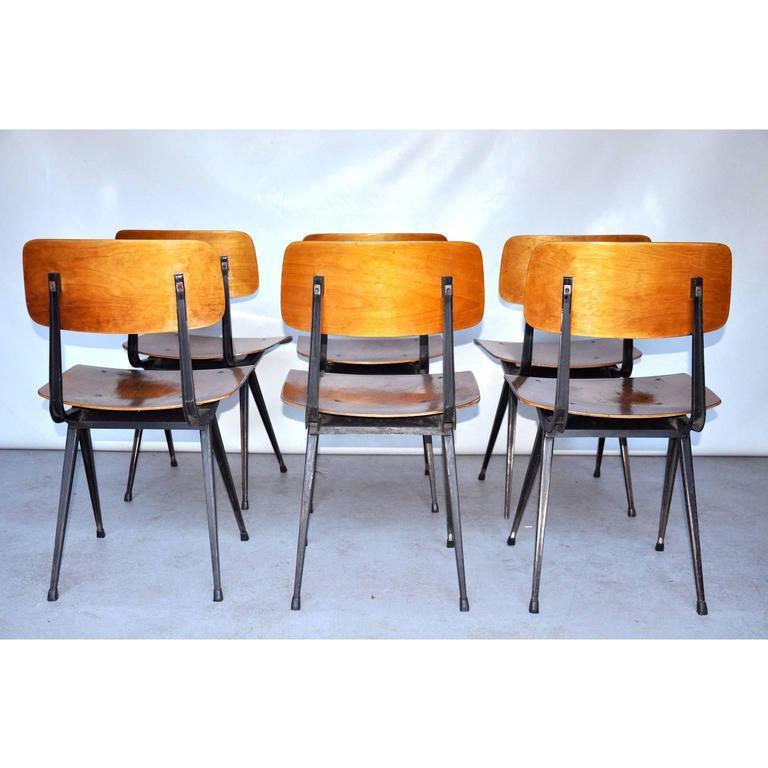 Friso kramer for ahrend de cirkel result dining chairs at 1stdibs - Kamer dining ...
