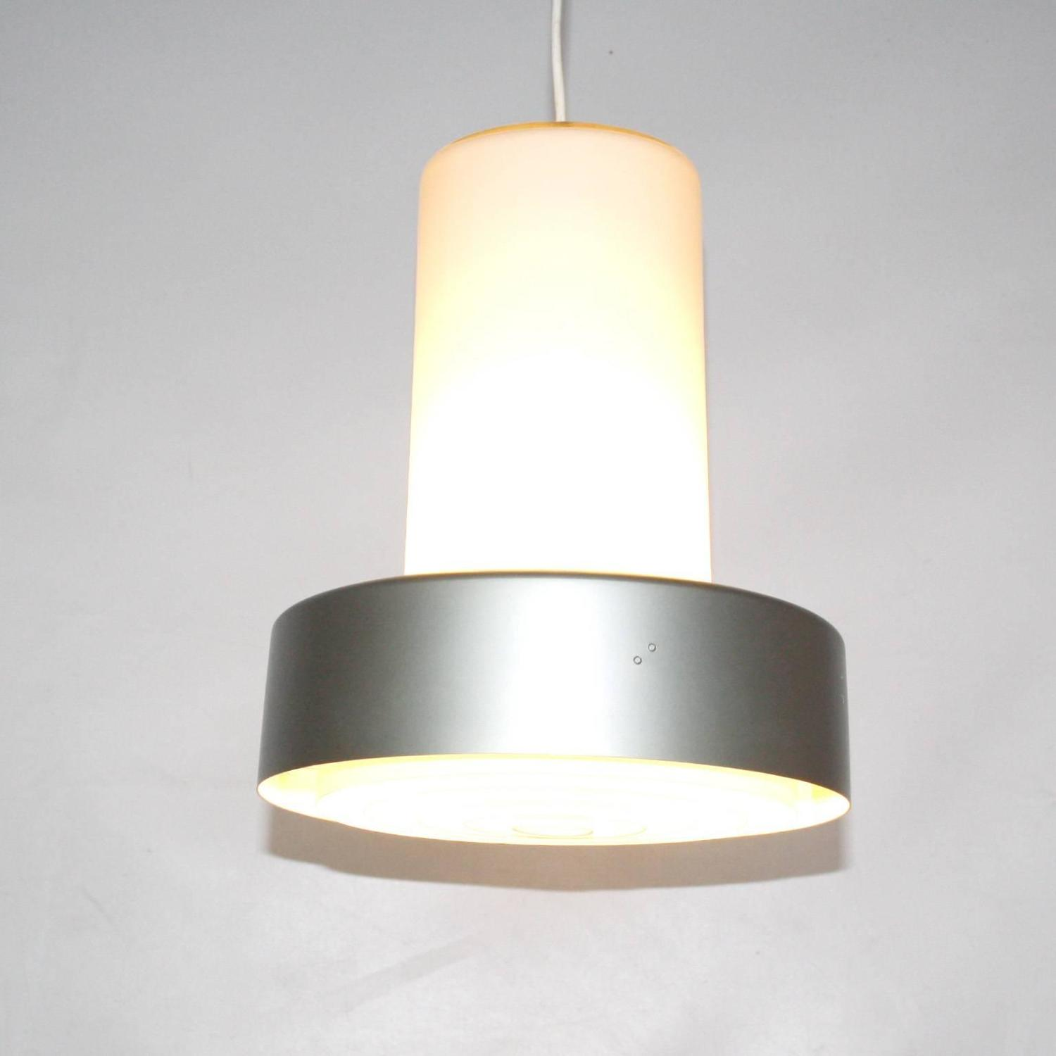 Glass And Metal Pendant Light By Lisa Johansson Pape For