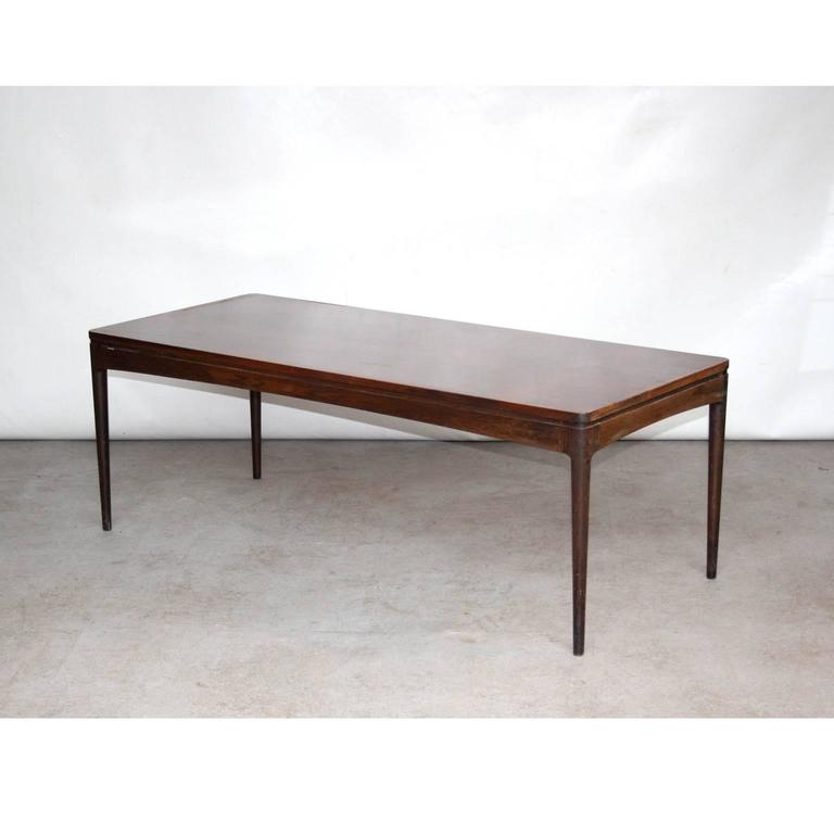 rosewood danish coffee tablechristian linneberg for sale at