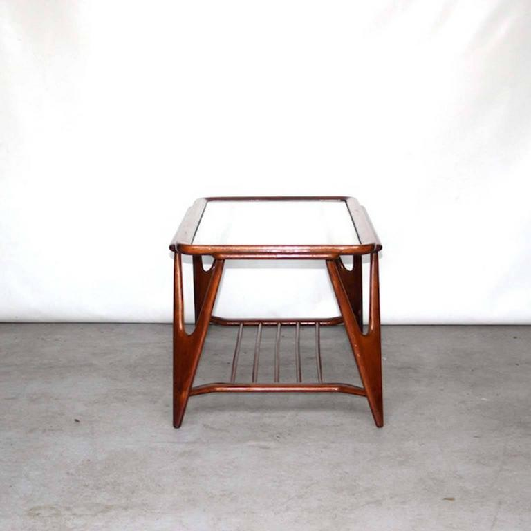 Cesare Lacca Style Coffee Table For Cassina Italy 1960s At 1stdibs