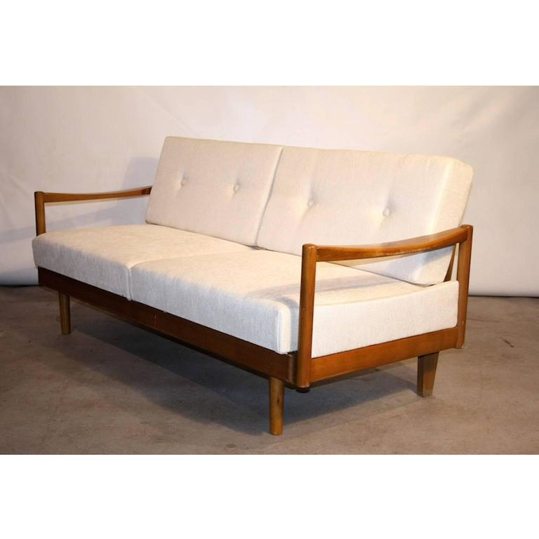 Sofa sleeper or daybed by knoll germany 1950s at 1stdibs for Sofa bed made in germany
