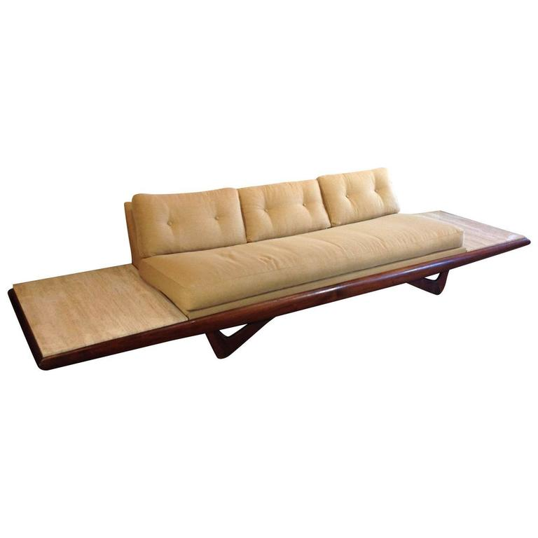 Mid Century Modern Sofa For Sale: Atomic Mid Century Modern Sofa Couch By Adrian Pearsall
