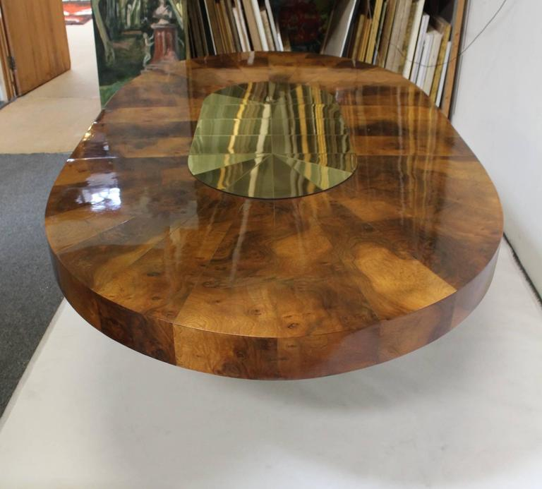 Brass And Wood Sunburst Paul Evans For Directional Large
