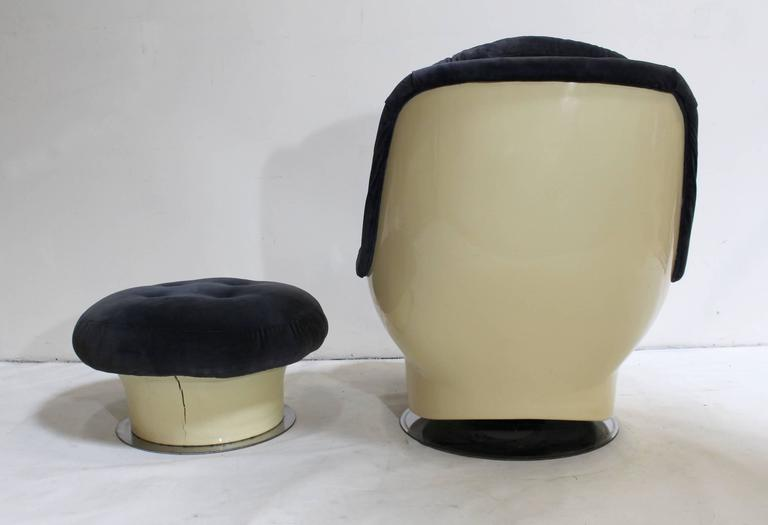 Milo Baughman for Thayer Coggin Lounge Chair and Ottoman 4
