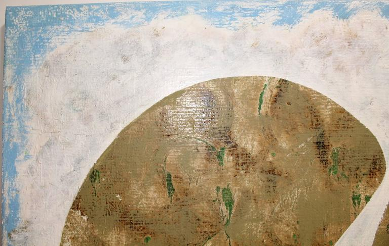 American Contemporary Modern Minimal Abstract Painting by Artist Jacques Lamy For Sale