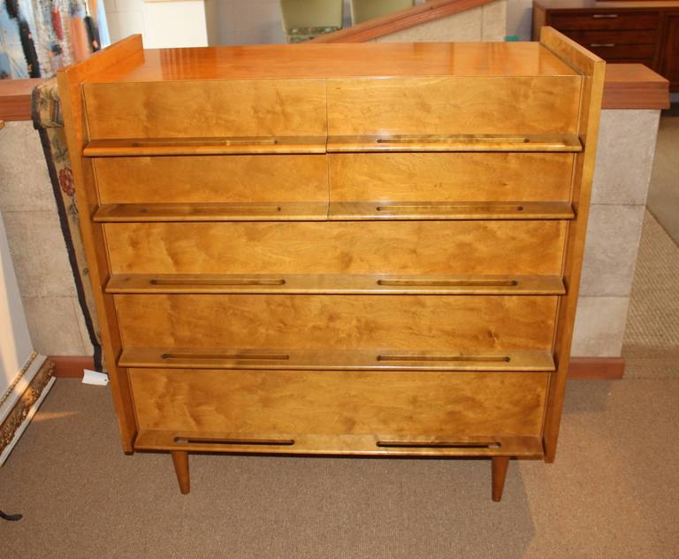 A Seven Drawer Chest Of Drawers From Edmond Spenceu0027s Coronation Collection  For The Walpole Furniture