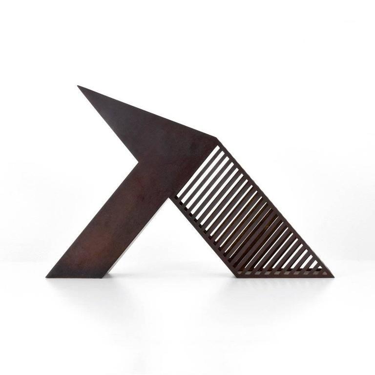 Modern Bronze Desk Sculpture by John Raimondi For Sale 1