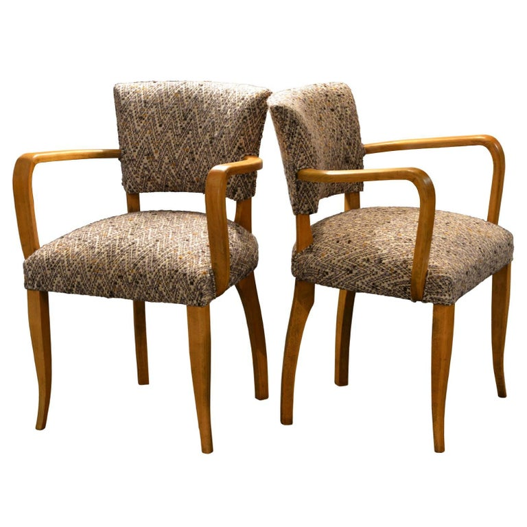 Pair of Bridge Chairs, Italy, Early 1950s