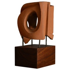 Abstract Sculpture in Terracotta, Italy, 1968