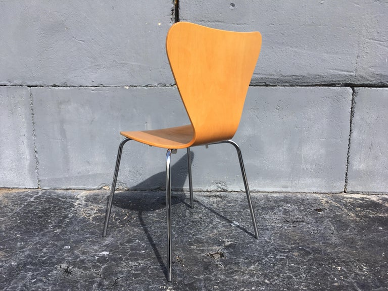 American Set of Six Bentwood Chairs For Sale