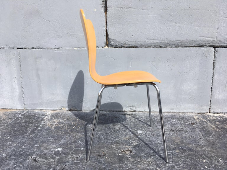Set of Six Bentwood Chairs In Good Condition For Sale In Miami, FL