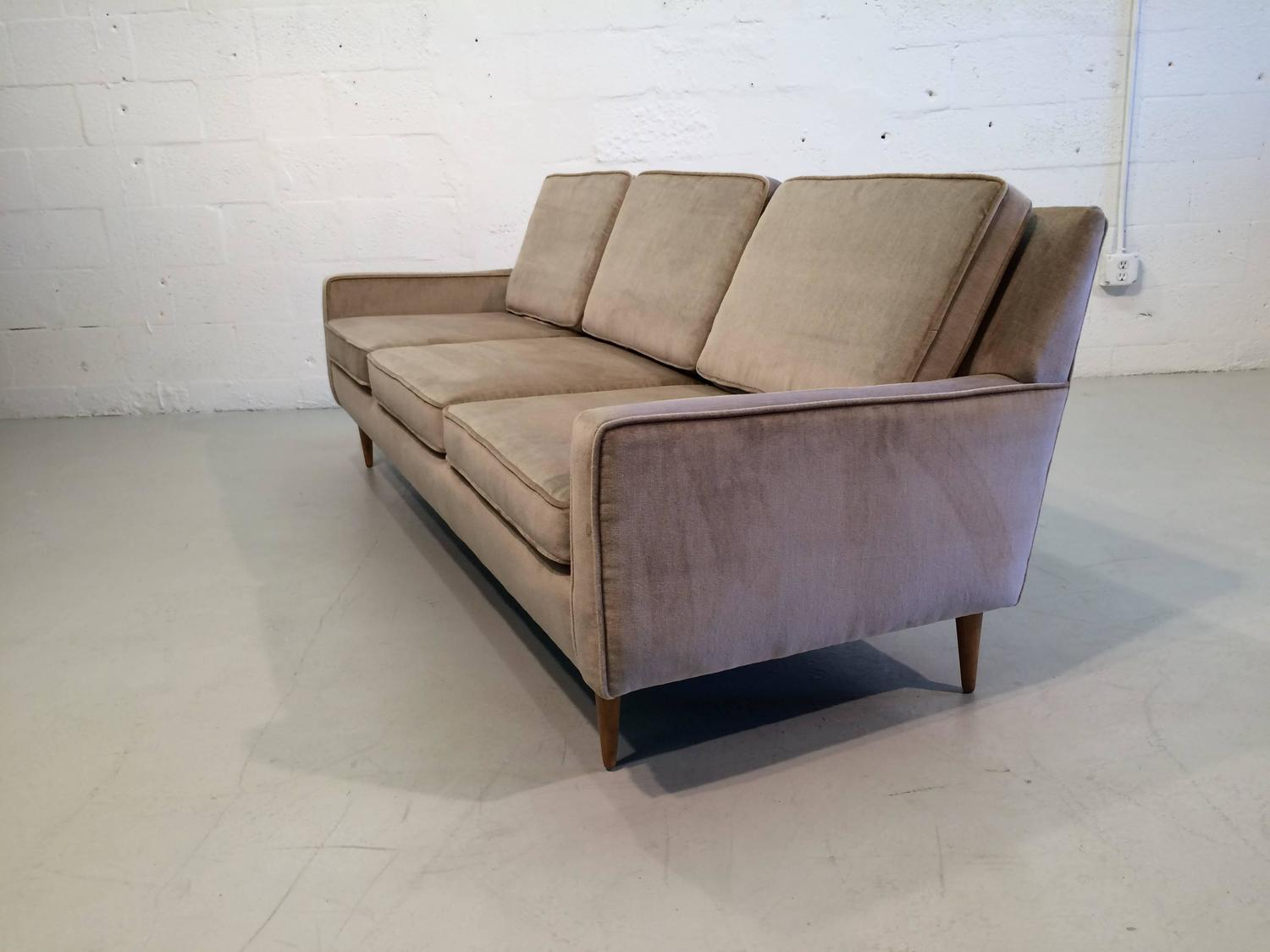 Original mid century modern sofa for sale at 1stdibs for Mid century modern sofa for sale