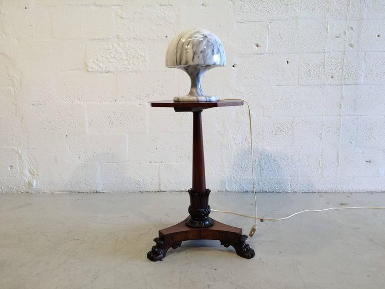 Nice Marble Table Lamp, Italy, 1970s For Sale 1