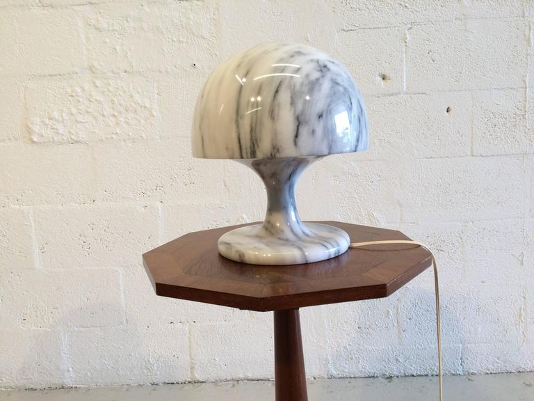 Nice Marble Table Lamp, Italy, 1970s For Sale 2