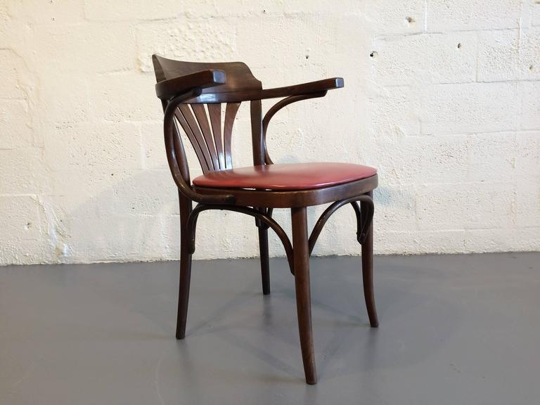 Six Bentwood Chairs By Drevounia, Czech Republic, 1950s. Great And Timeless  Chairs.