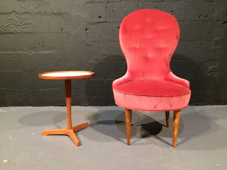 Petite Scandinavian Lounge Chairs, 1950s For Sale 3