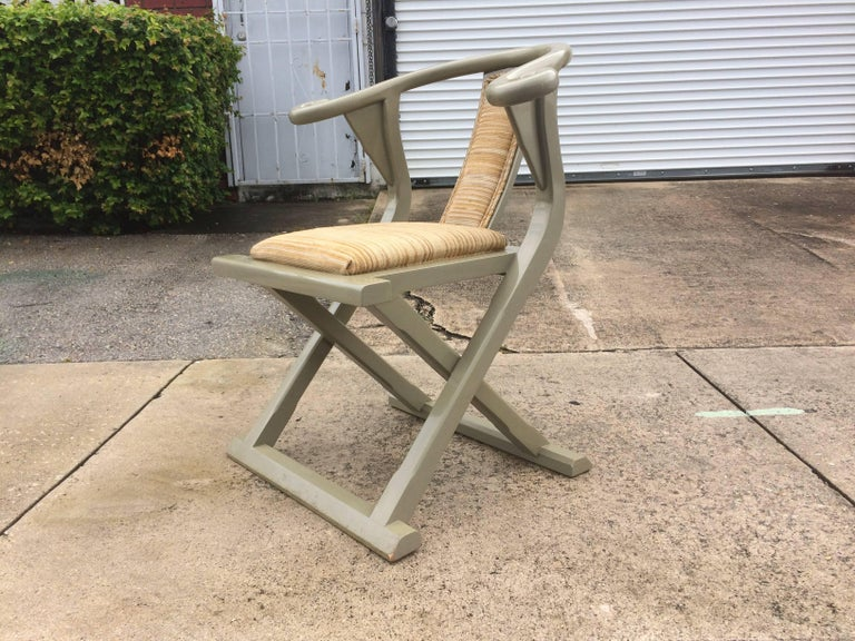 Decorative Side or Desk Chair In Good Condition For Sale In Opa Locka, FL